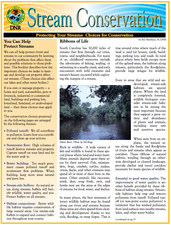 stream protection fact sheet